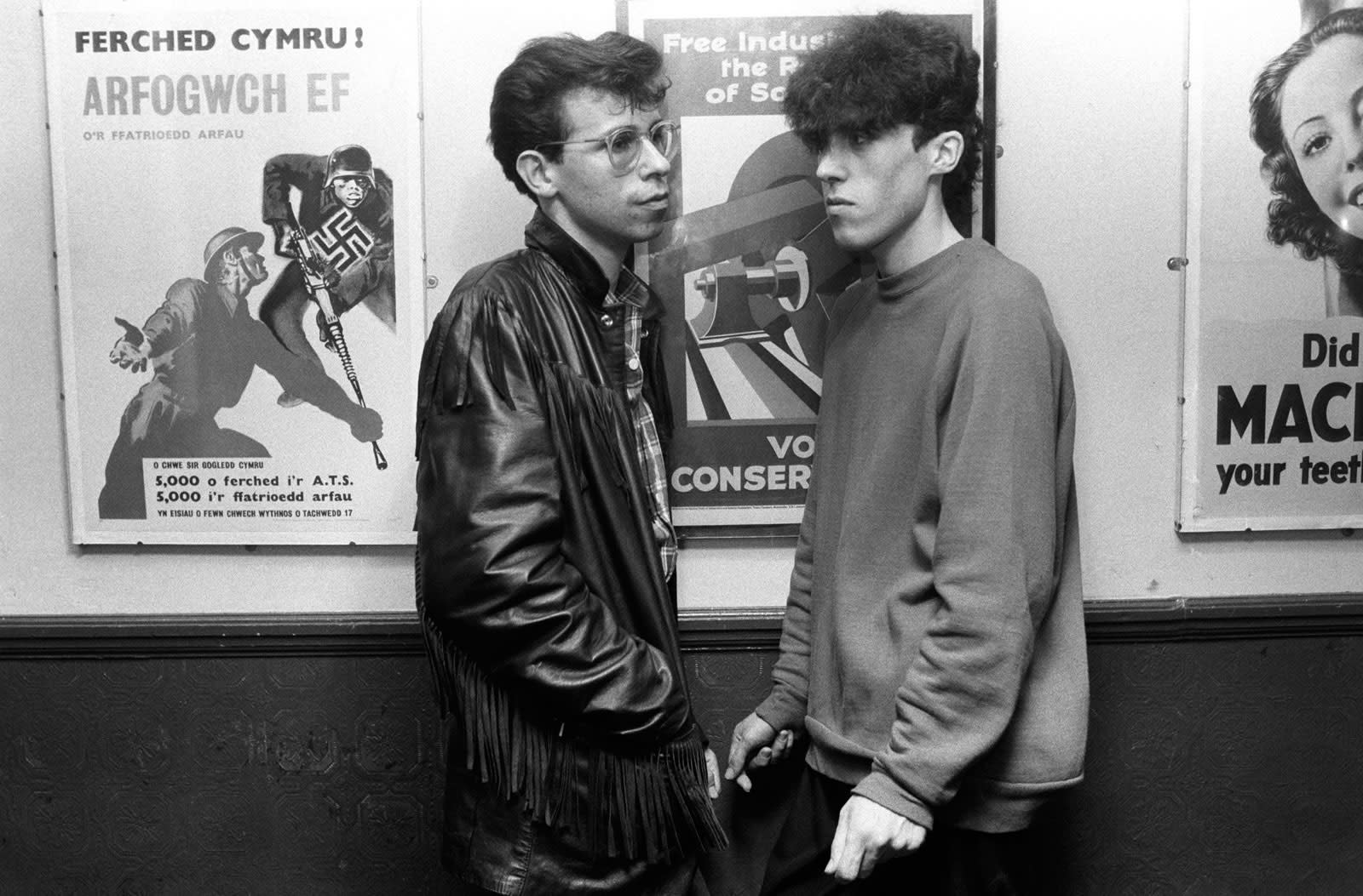 Homer Sykes, Blitz Club, London, 1980