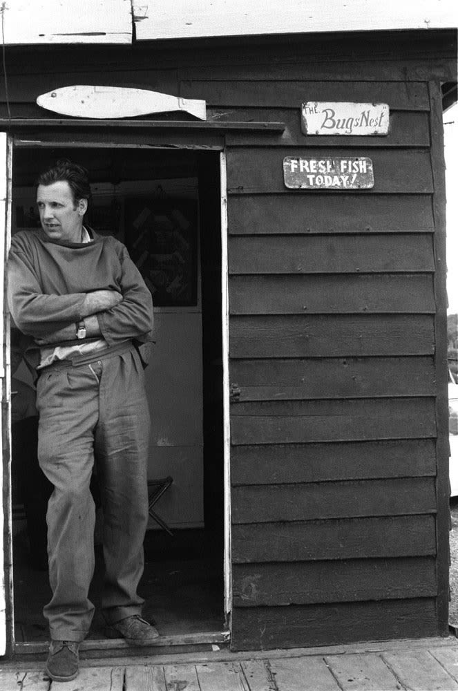 Homer Sykes, Fisherman, Dunwich, Suffolk, 1972