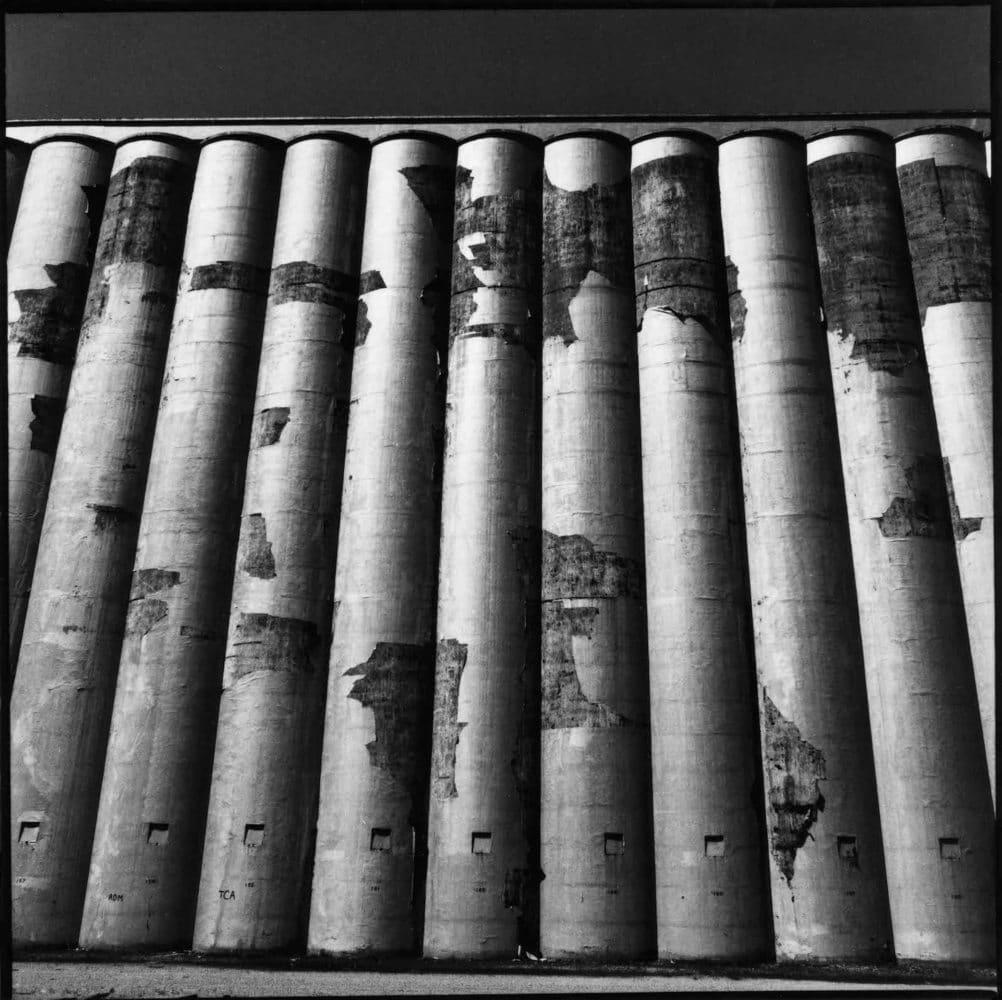 Sid Kaplan, Grain elevators, Minneapolis, 1986-89