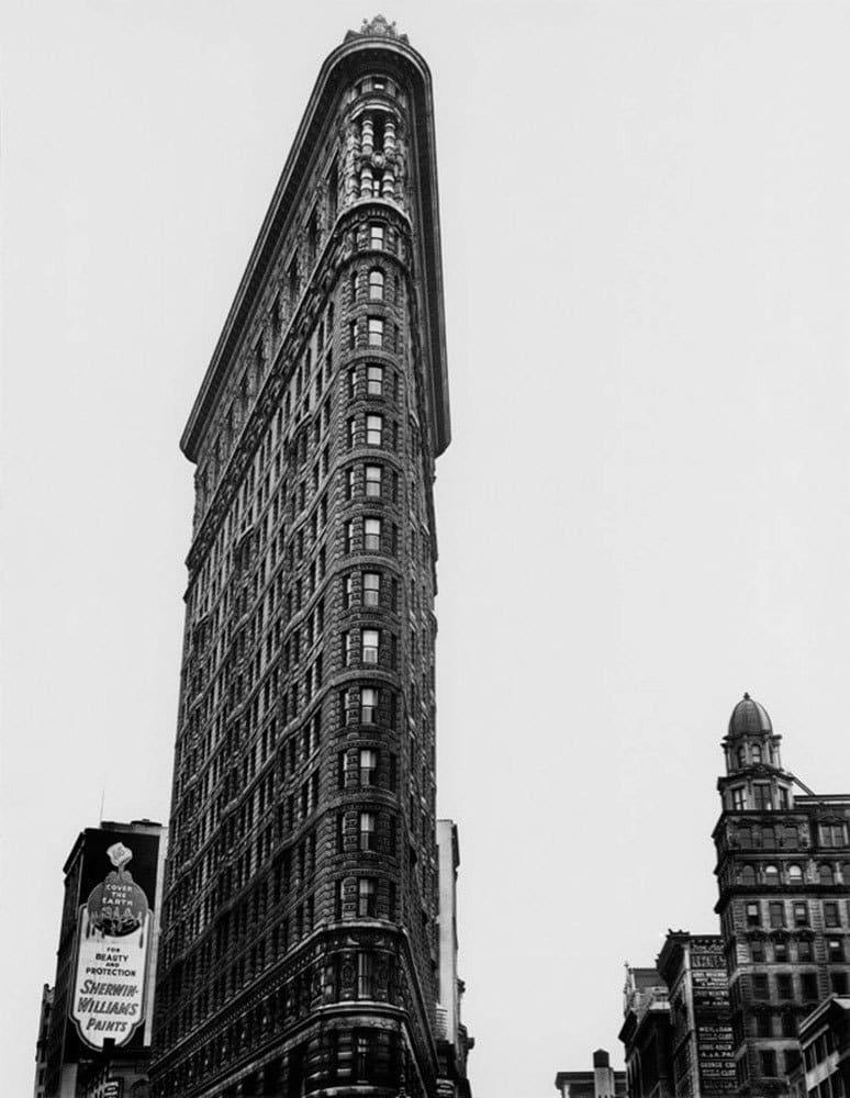 Berenice Abbott, Flatiron Building, Broadway and Fifth Avenue, New York, 1938