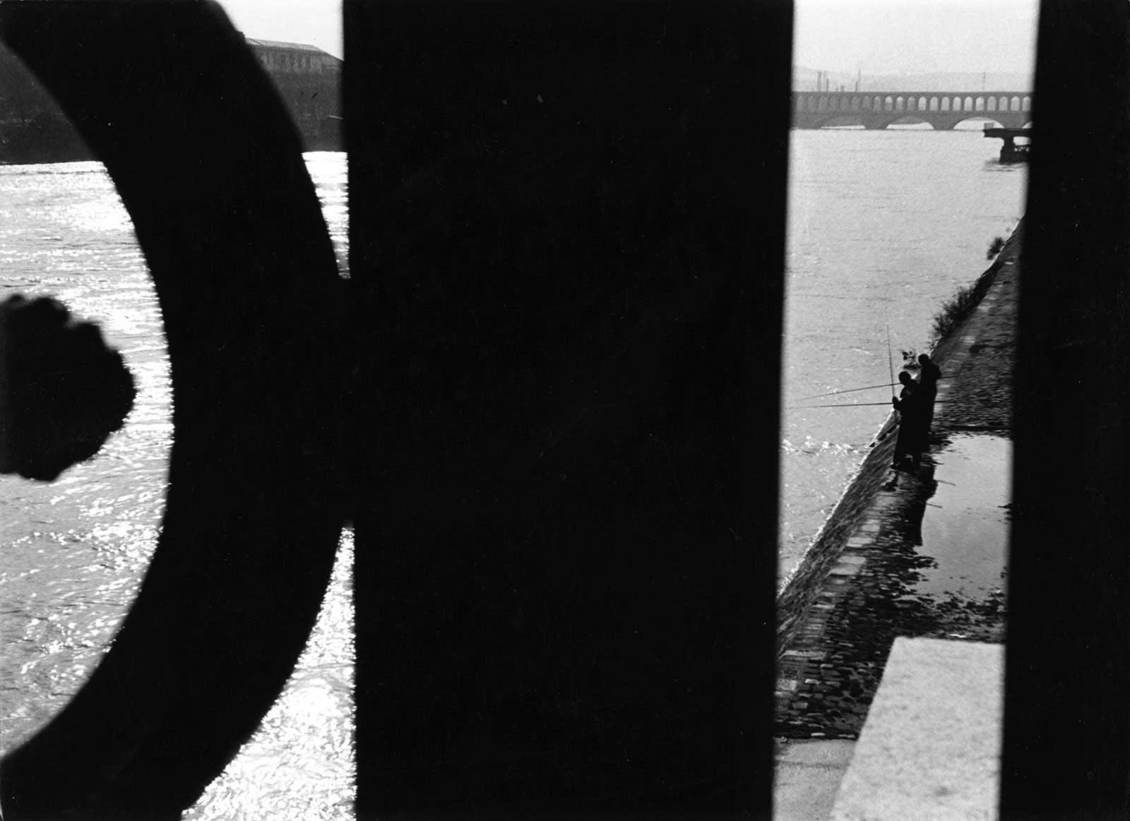 Sabine Weiss, Bords de Seine, 1951