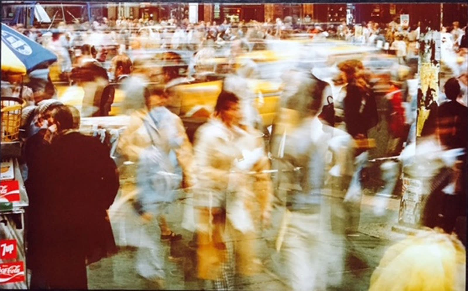 Ernst Haas, Crosswalk, NYC, 1974