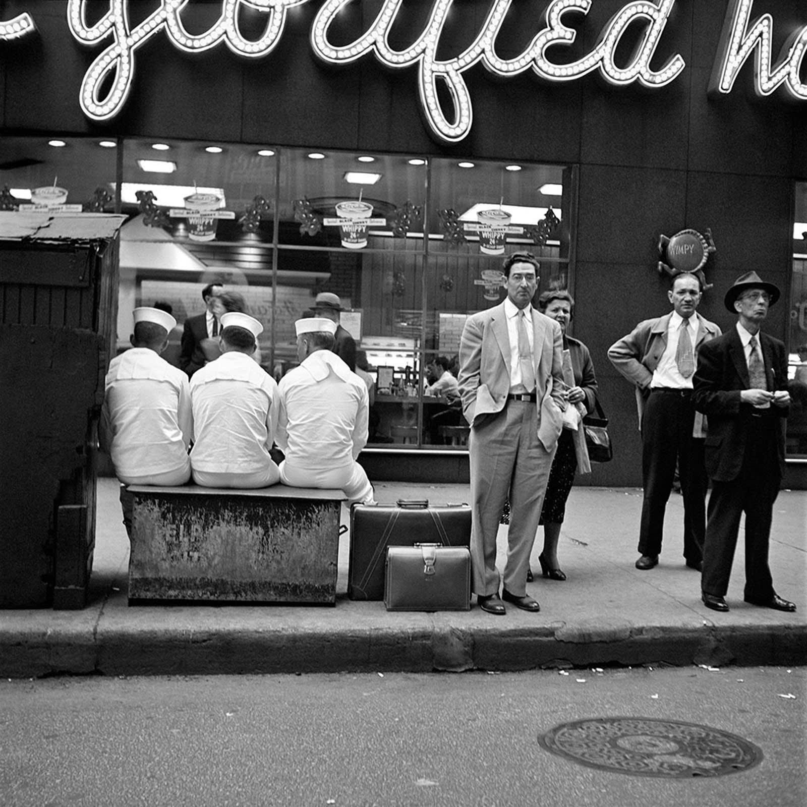 Vivian Maier, Chicago, IL, June 7, 1956