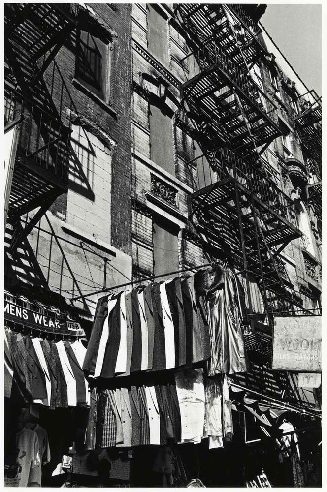 Sid Kaplan, Orchard Street, New York City, 1987