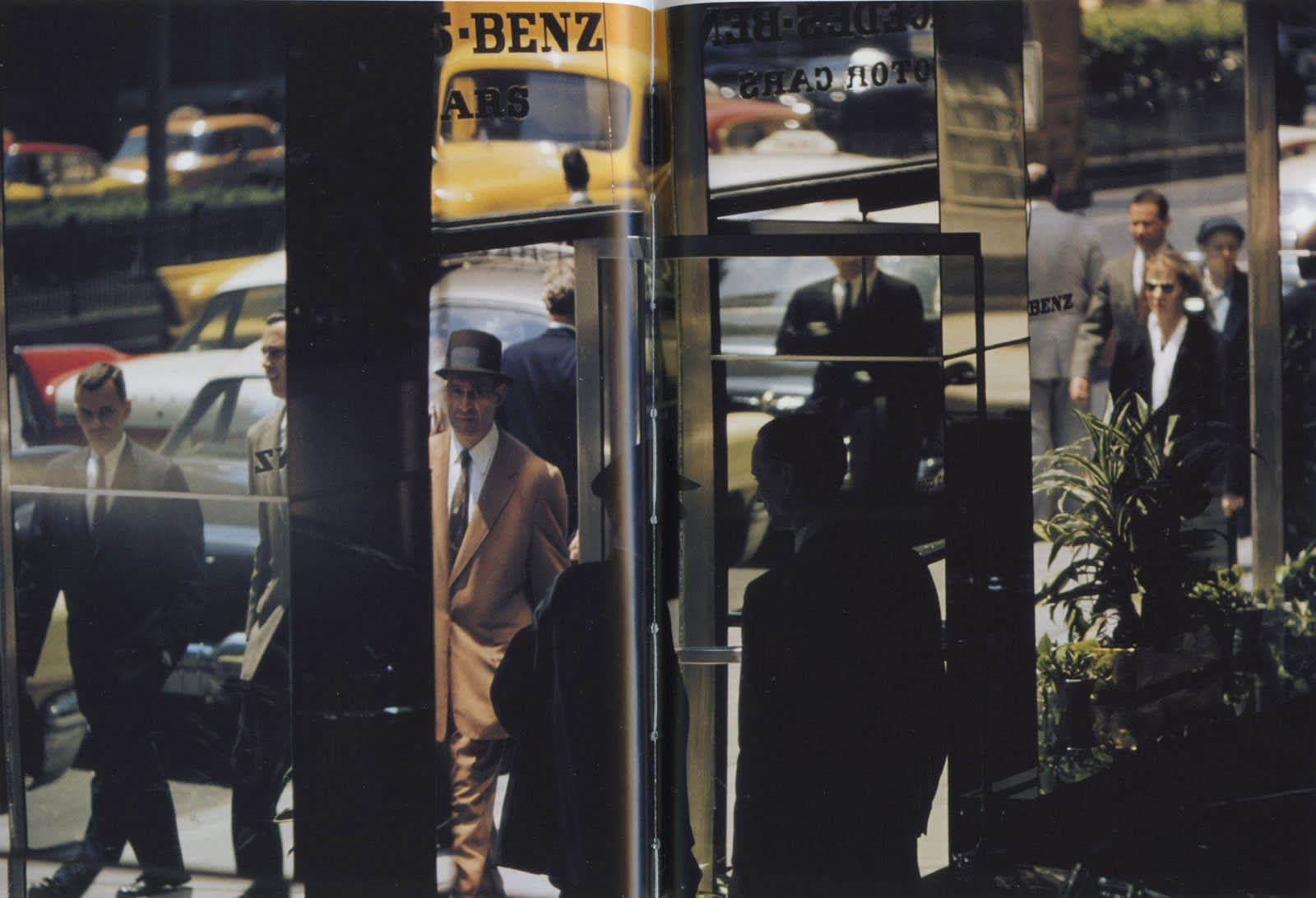 Ernst Haas, New York City, USA, 1953