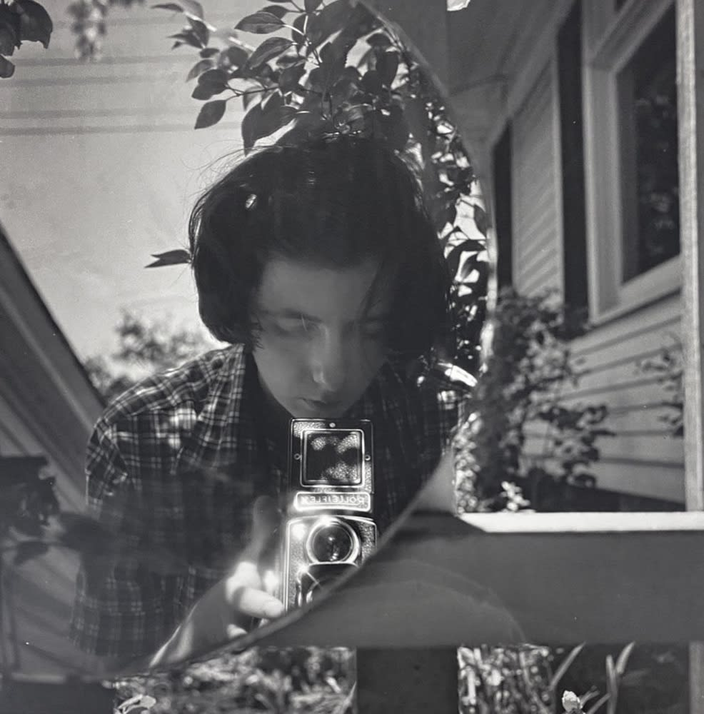 Vivian Maier, Untitled, Self-portrait, 1953