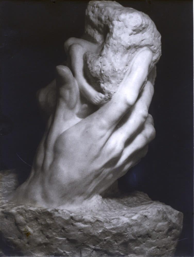 Albert Rudomine, La main de Dieu d'Auguste Rodin, c. 1935