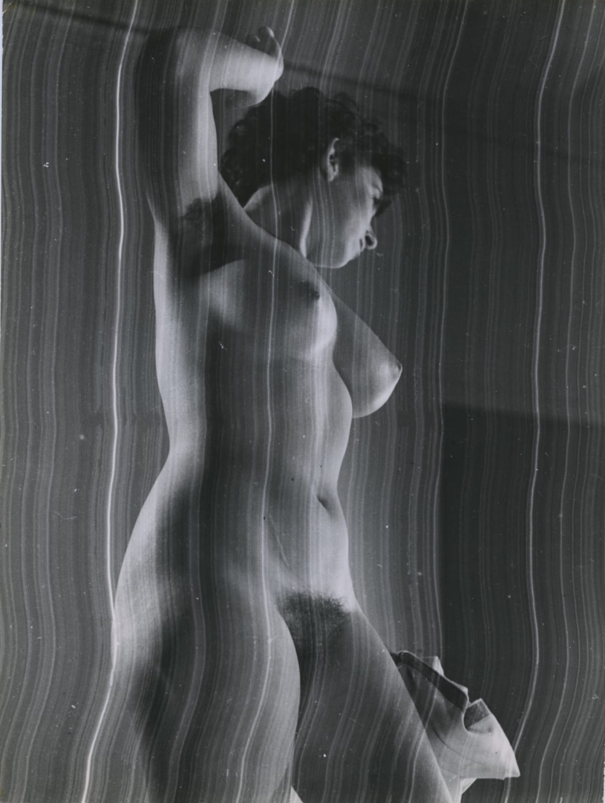 Pierre Boucher, Nu rayé, c. 1935