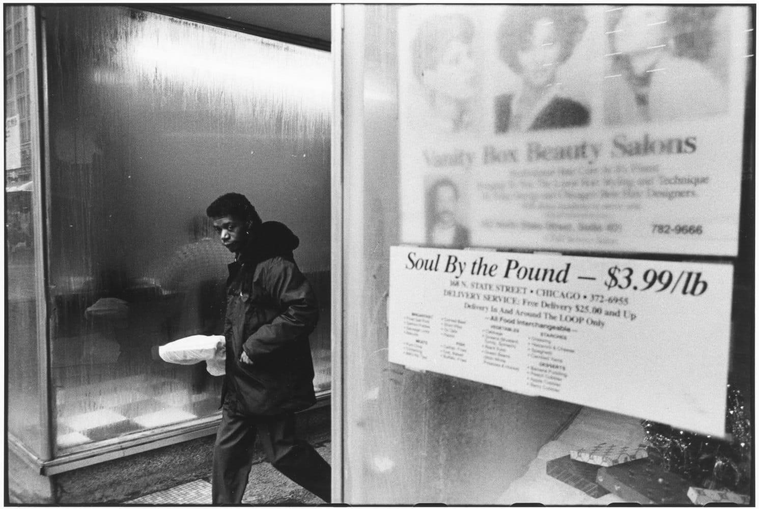 Tom Arndt Soul by the Pound, Chicago Tirage gélatino-argentique postérieur, réalisé par l'artiste 20,5 x 30,5 cm Dim. papier: 27,9 x 35,3 cm