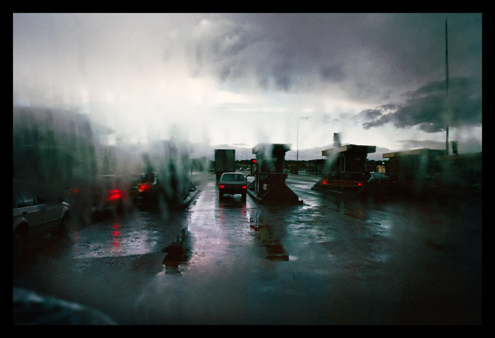 Jean-Christophe Béchet Edimburg, Écosse Tirage Cibachrome d'époque réalisé par l'artiste 23,5 x 35,5 cm Dim. papier: 30 x 40 cm