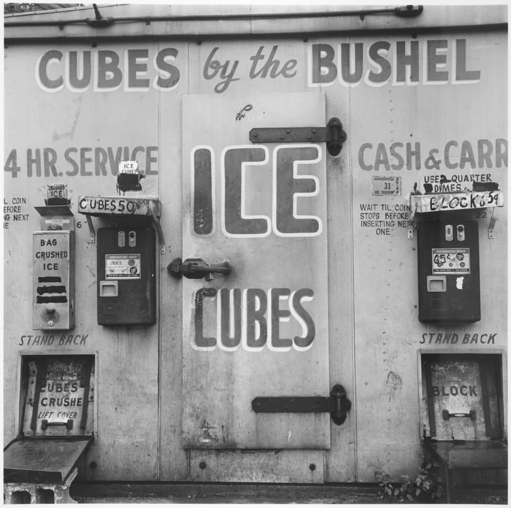 Tom Arndt, Ice Cube machine, Minneapolis, Minnesota, 1973