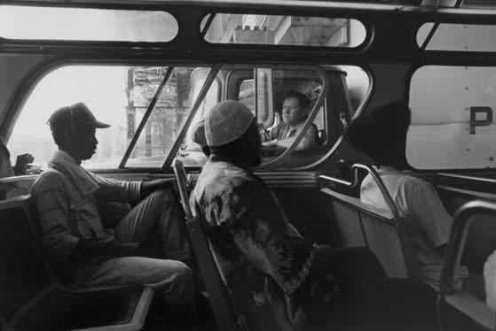 Tom Arndt, Bus scene, No 1, Chicago, 1991