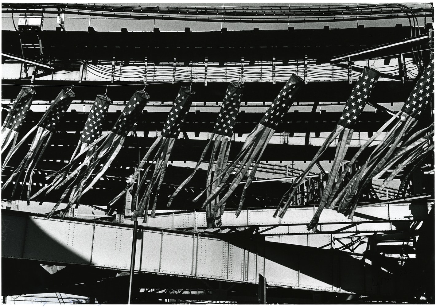 Sid Kaplan, Paper lanterns, Long Island City, New York City, 1998