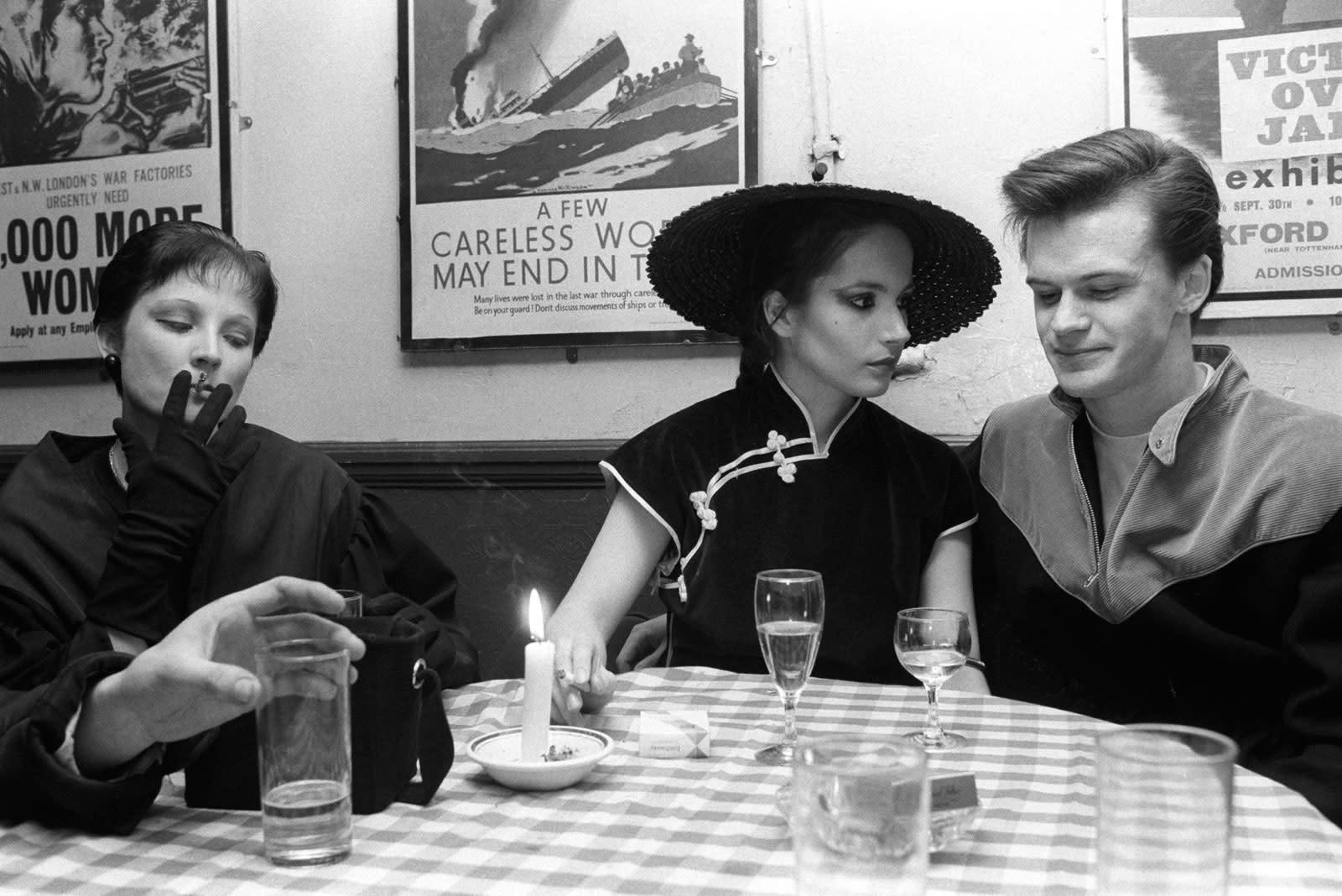 Homer Sykes, Blitz Club Kids, New Romantics, London, 1980