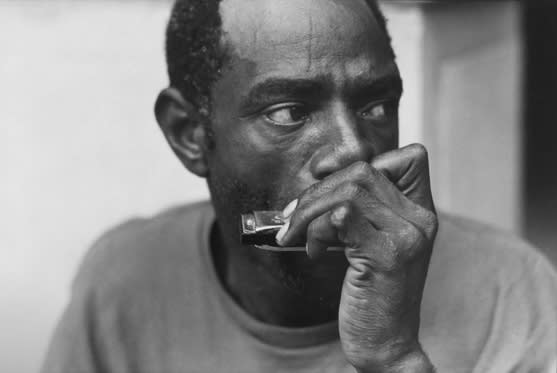 Tom Arndt, Street musician, Chicago, 1997