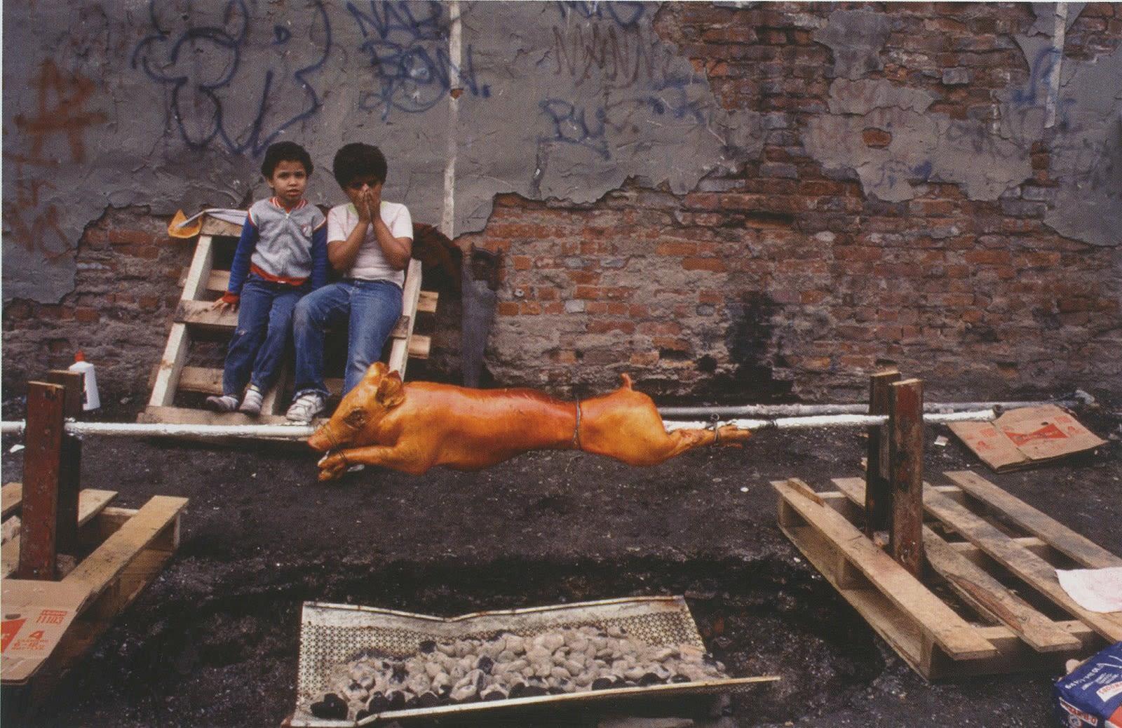 Arlene Gottfried Summer Afternoon Cibachrome, tirage d'époque réalisé par David Gray Dim. papier: 28 x 35,5 cm