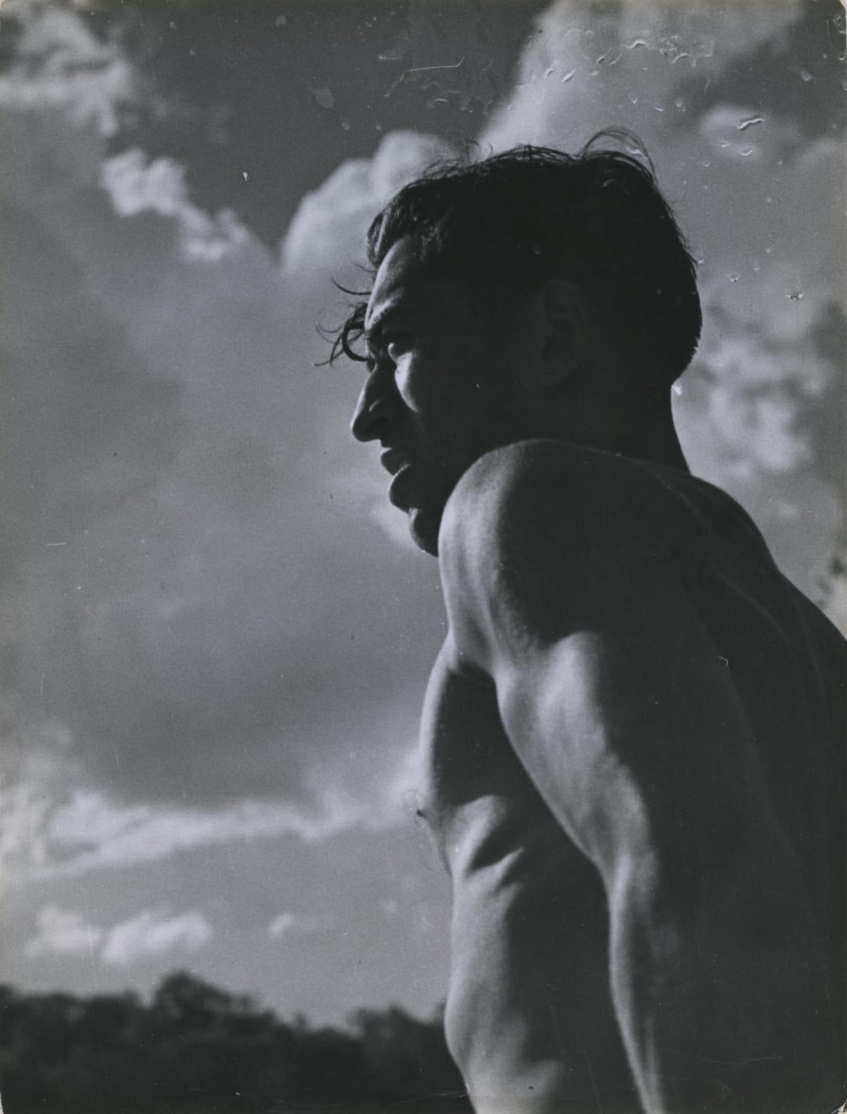 André Steiner, Portrait d'homme, 1935