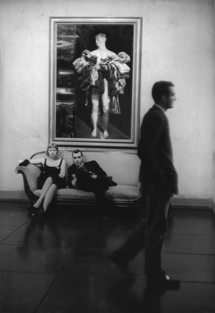 Sabine Weiss New York Tirage gélatino-argentique d'époque réalisé par l'artiste 19,5 x 28,8 cm Dim. papier: 19,5 x 28,8 cm
