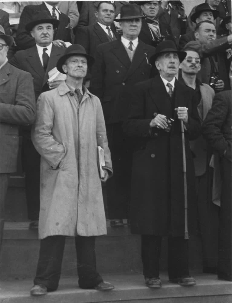 Sabine Weiss, Course à Longchamp, Paris, 1950