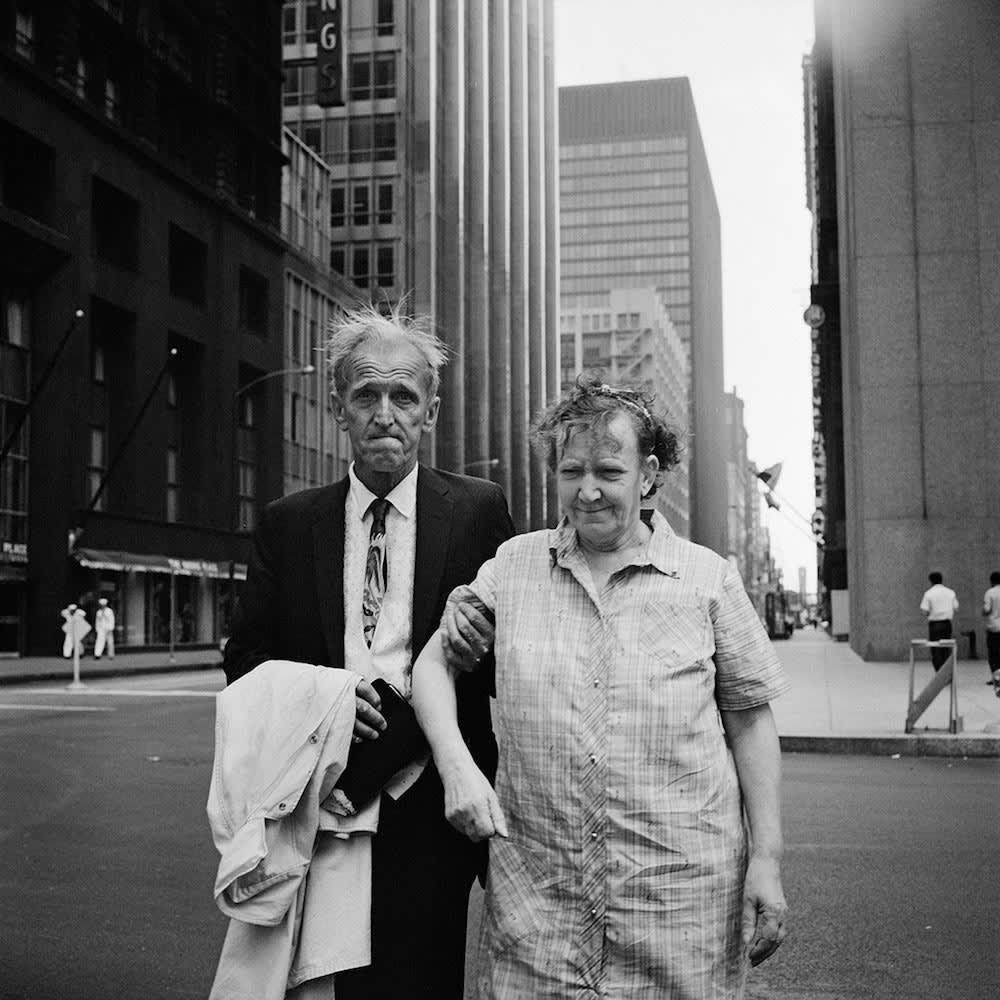 Vivian Maier, New York, c. 1960