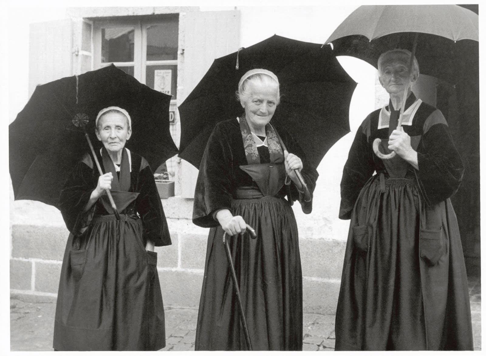 Sabine Weiss, Bretagne, 1954