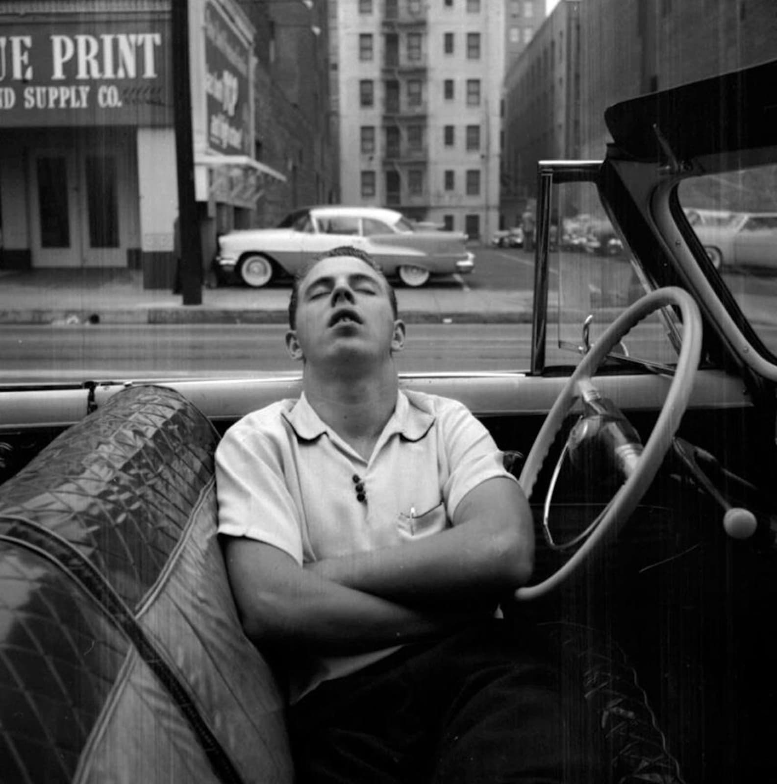 Vivian Maier, New York, NY, 1955