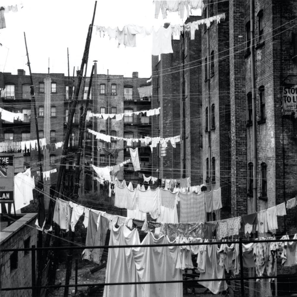 Sid Kaplan, South Bronx, NYC, 1953