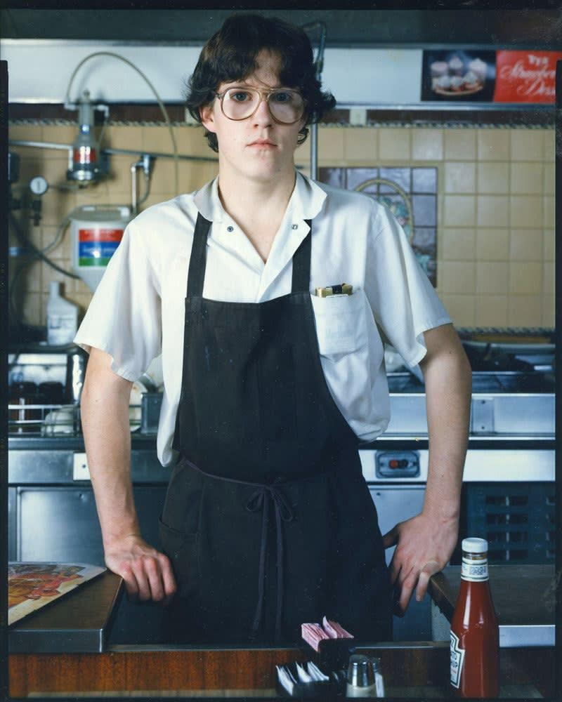 Bruce Wrighton, Dishwasher at Woolworths, Binghamton, NY, 1987