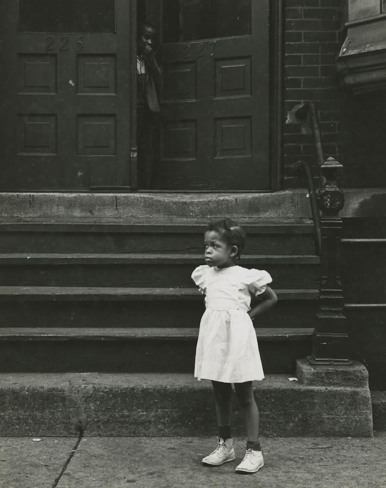 Marvin E. Newman, Little Girl, Chicago, 1951