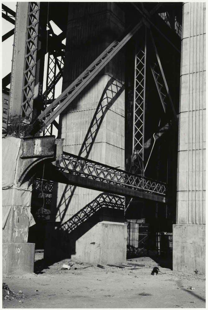 Sid Kaplan, Williamsburg Bridge Reconstruction, New York City, 1999