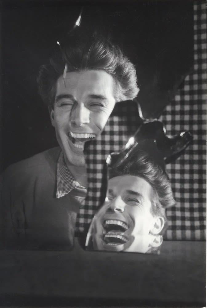 Roger Catherineau, Autoportrait, 1957-1958