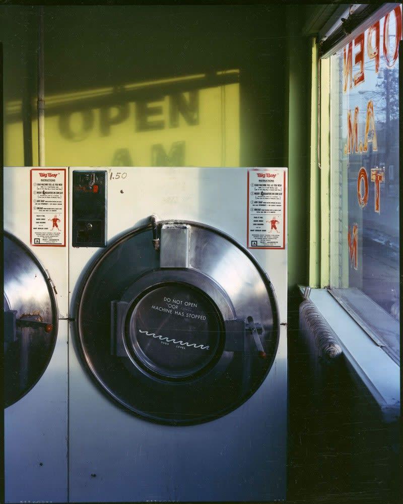Bruce Wrighton, Laundromat, 1987