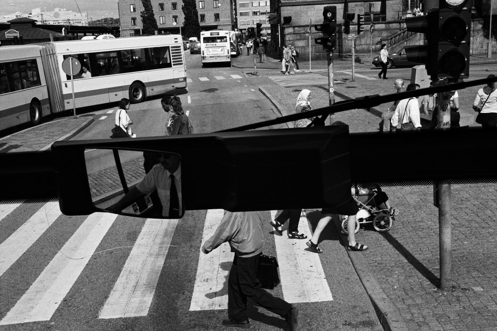 Jean-Christophe Béchet Göteborg, Suède Tirage gélatino-argentique, réalisé par l'artiste 17,7 x 26,5 cm Dim. papier: 24 x 30 cm