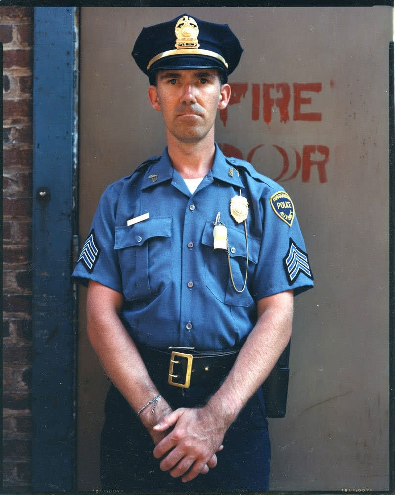 Bruce Wrighton, Auxiliary Policeman, Binghamton, New York, 1987