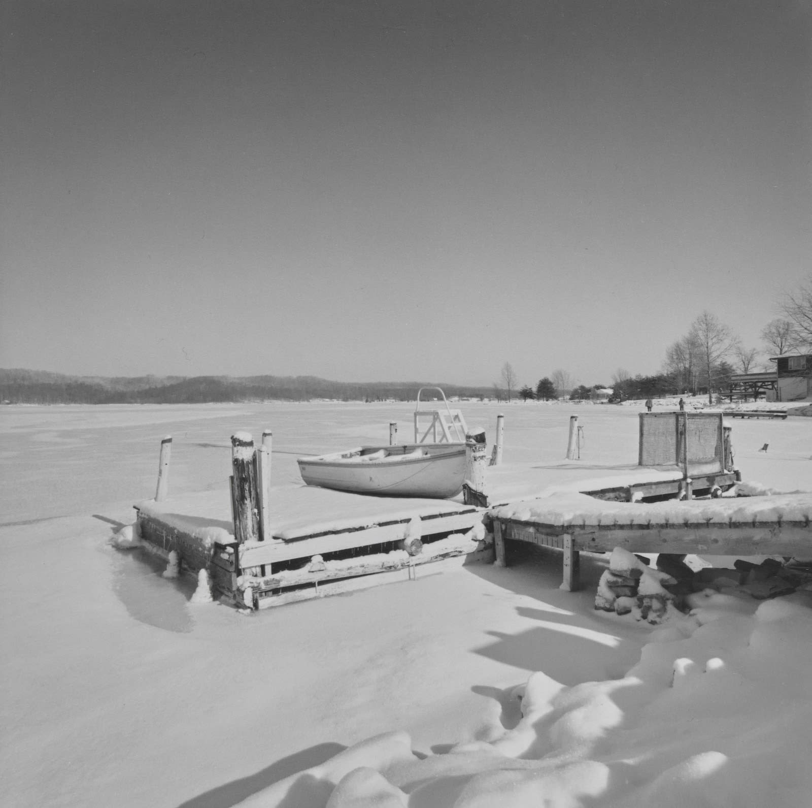 Steven Rifkin, Untitled, Lake Lemon, IN, 1977