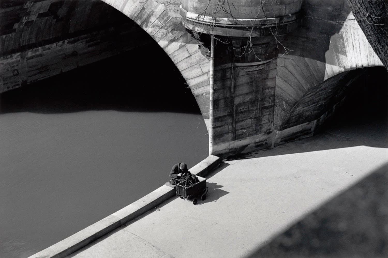 Sabine Weiss, Pont Neuf, Paris, 1949