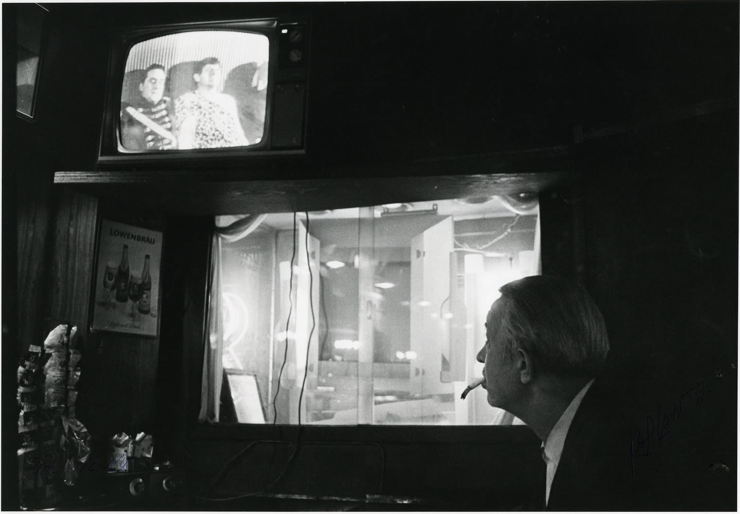 Sid Kaplan, Bar, New York City, 1972