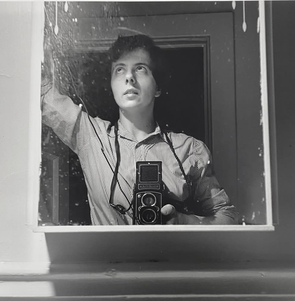 Vivian Maier, Self-portrait, New York, NY, 1954