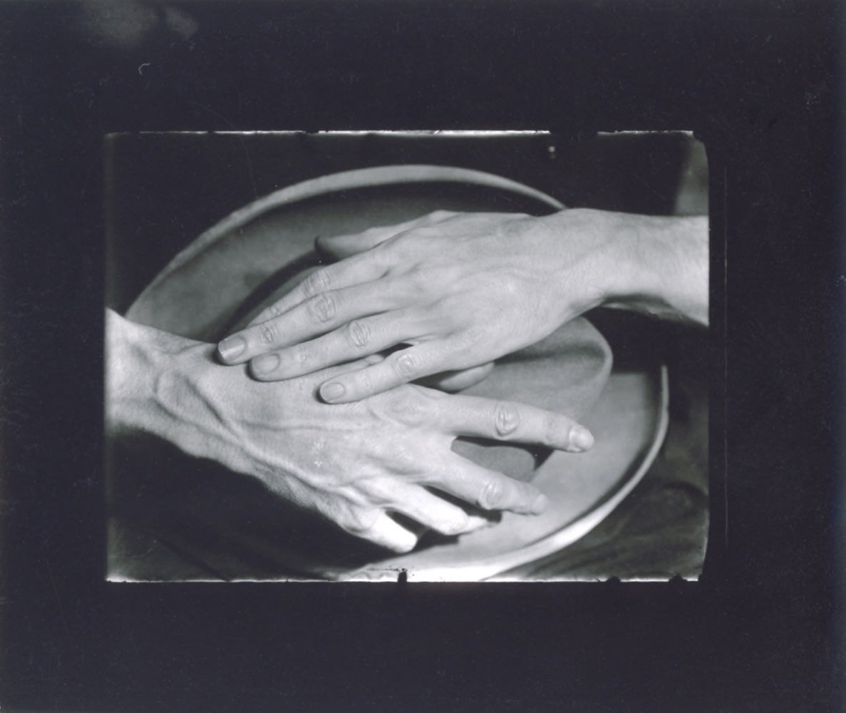 Berenice Abbott, Hands of Jean Cocteau, 1927