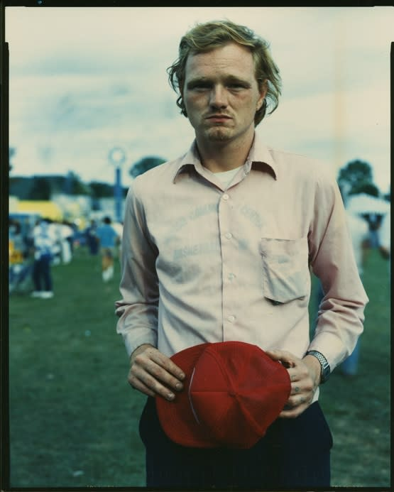 Bruce Wrighton, Man with red hat #2, 1987