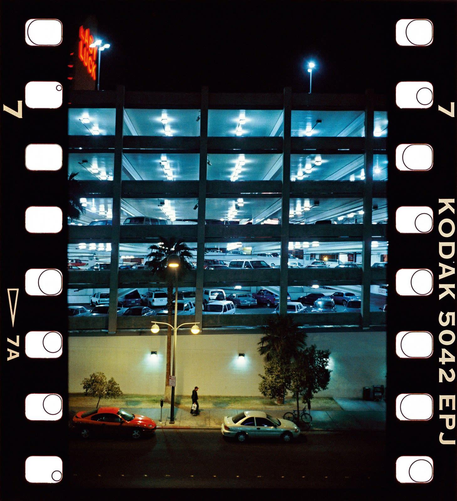 Jean-Christophe Béchet Las Vegas, Nevada Tirage Ilfochrome (Cibachrome) Dim. papier: 40 x 50 cm