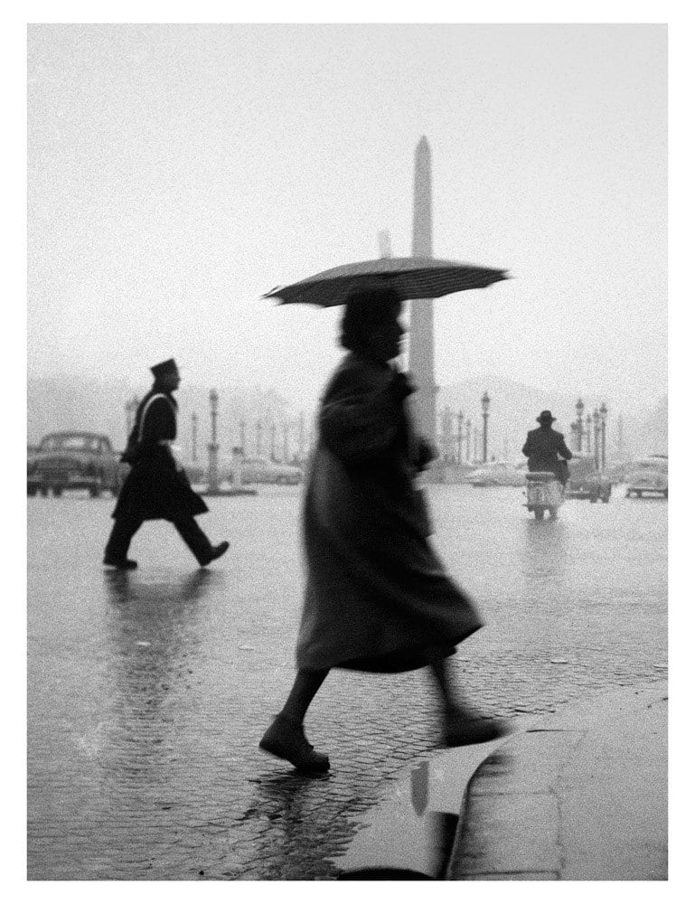 Sabine Weiss, Place de la Concorde, Paris, 1953