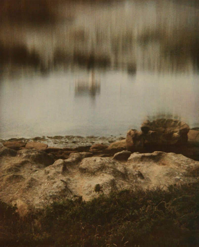 Rodolf Hervé Bretagne, quelque part au bord de la mer Tirage sur papier Pearl d'Hahnemühle d'après Polaroïd Dim. papier: 40 x 50 cm