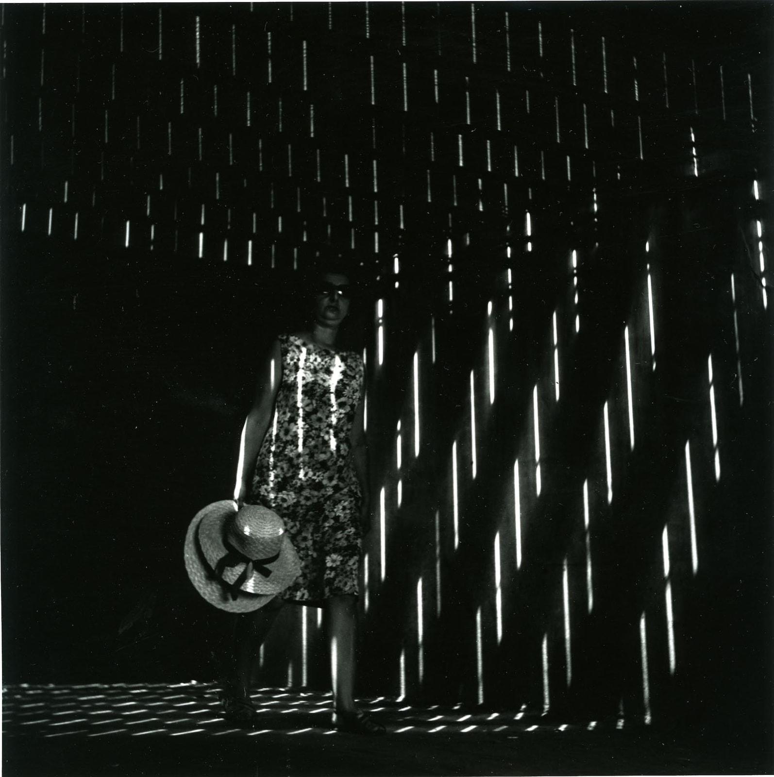 Ray K. Metzker, Under the boardwalk, Atlantic City, 1966