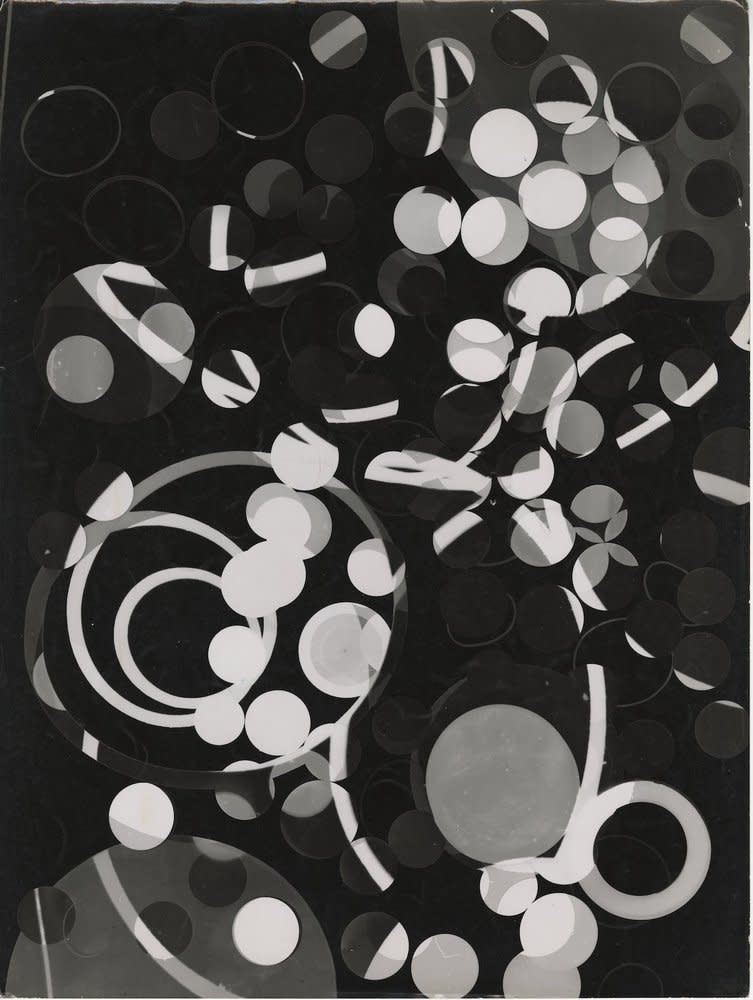 Roger Catherineau, Photogramme, c. 1957-1958