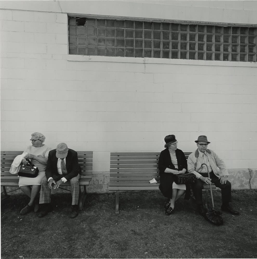 Tom Arndt, Two couples, Minnesota State Fair, 1976