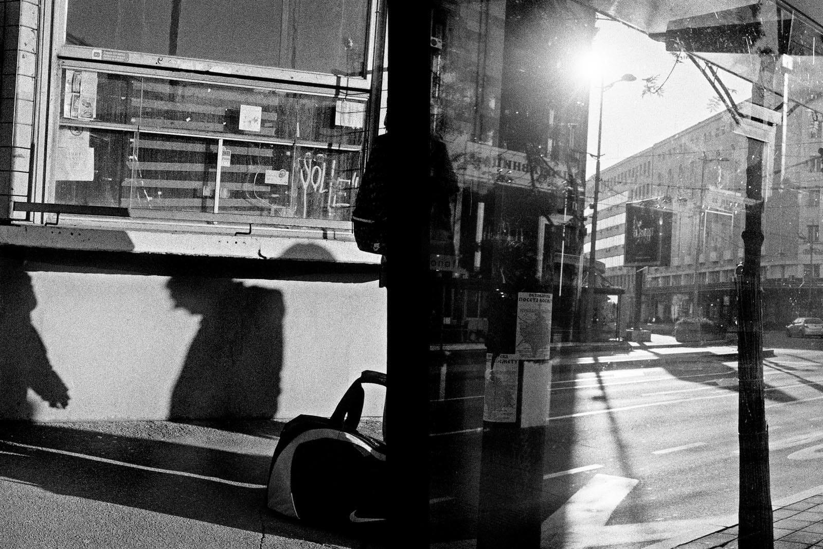 Jean-Christophe Béchet Belgrade, Serbie Tirage gélatino-argentique, réalisé par l'artiste 16,7 x 26,2 cm Dim. papier: 24 x 30 cm