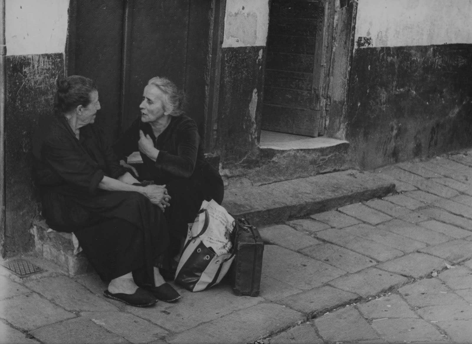 Sabine Weiss, Sienne, Italie, 1953