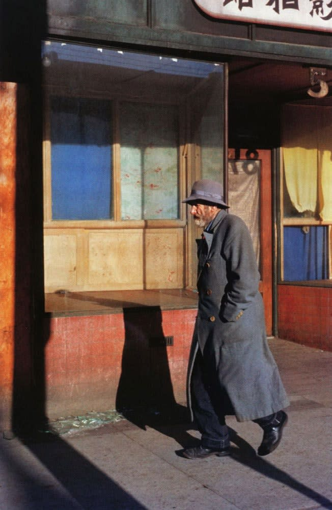 Fred Herzog, Old Man, Main Street, 1959