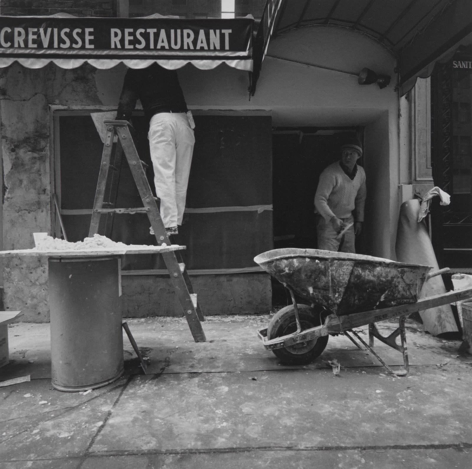 Steven Rifkin Untitled, NYC Tirage gélatino-argentique 17,8 x 17,8 cm Dim. papier: 20,3 x 25 cm